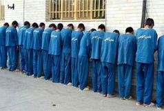 دستگیری 14متهم و کشف مقادیری مواد مخدر و اسلحه جنگی