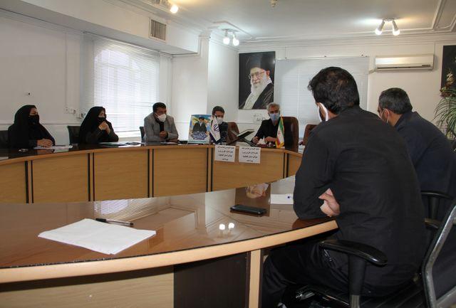 جلسه کارگروه برنامه های ایام محرم ورزش و جوانان کهگیلویه وبویراحمد برگزار شد
