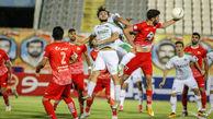 دیدار تیم های فوتبال آلومینیوم اراک-تراکتور سازی تبریز