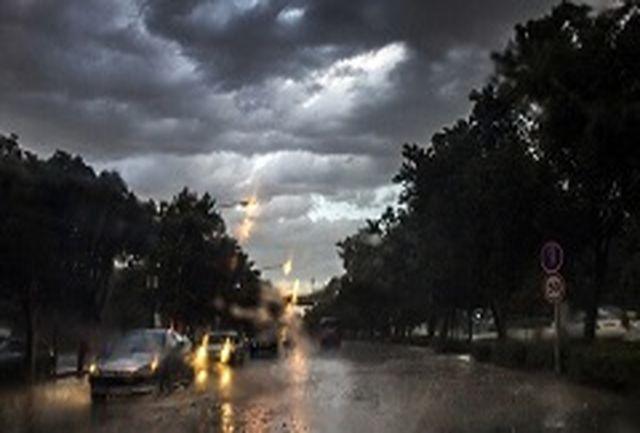 نفوذ سامانه بارشی و کاهش دما از امشب