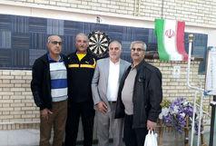 نایب قهرمانی منطقه خلیج فارس در مسابقات دارت