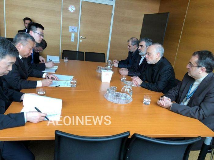 صالحی با رییس سازمان انرژی اتمی چین دیدار کرد