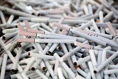 کشف 14 هزار نخ سیگار قاچاق در رشت