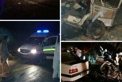 6 کشته و 5 مجروح دریک تصادف زنجیره ای