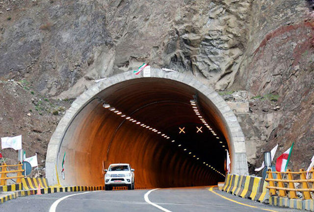ترافیک فوق سنگین در جاده هراز