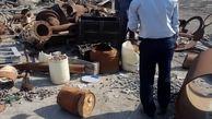 کالاهای عملیاتی انبار نفت شهید رجایی ساماندهی و تعیین تکلیف شدند