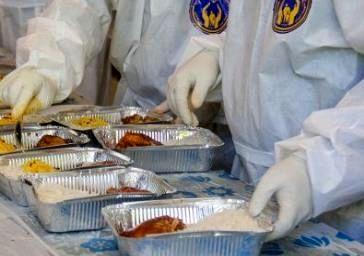 توزیع ۱۲ هزار غذای گرم در شهرستان قدس