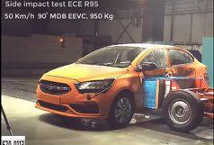 موفقیت سایپا شاهین در تست تصادف ECE R95 اروپا