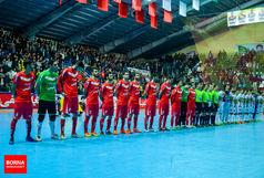 گیتی پسند رکورددار تاریخ لیگ برتر فوتسال شد