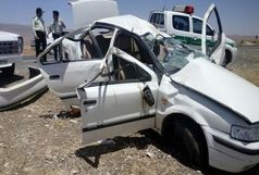 1 کشته و چهار زخمی در تصادف جاده ایلام - مهران