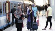 قطار مسافری رشت _ مشهد  به مسیر خود ادامه داد