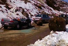رانندگان احتیاط کنند، جاده ها لغزنده است