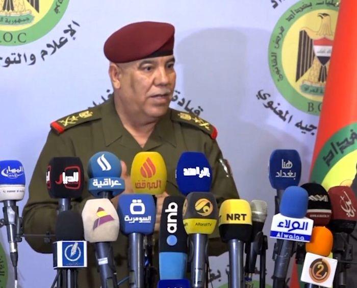 برکناری سرلشکر «جلیل الربیعی» از فرماندهی عملیات بغداد