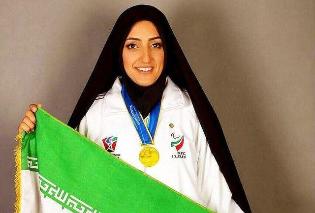 کردستانی در پرتاب وزنه به مدال طلا رسید