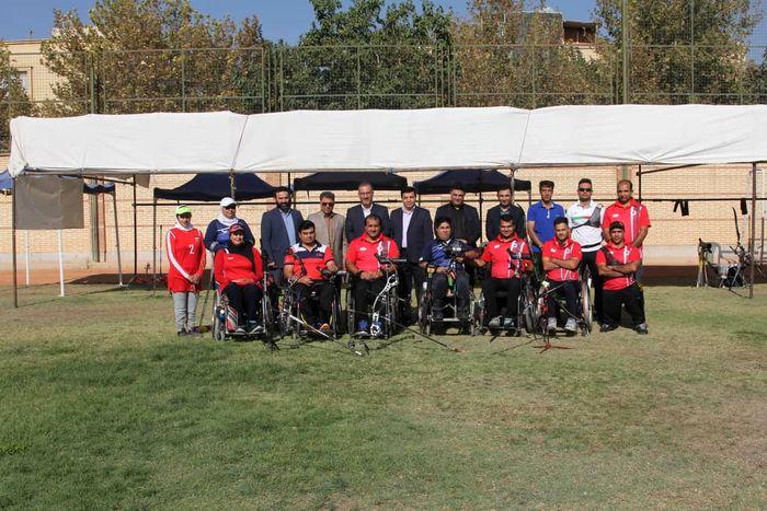 بازدید شعبانیبهار از اردوی تیم ملی پاراتیراندازی با کمان