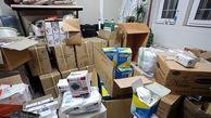 کشف اقلام بهداشتی احتکار شده در کرمانشاه