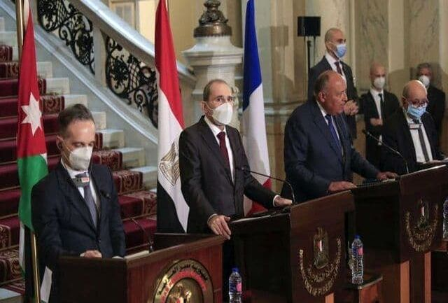 تاکید عربی-اروپایی بر همکاری با بایدن برای حمایت از صلح خاورمیانه