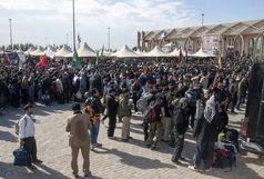 کاهش حجم تردد زائران در مرز مهران
