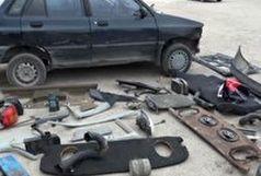 متلاشی شدن باند سارقین خودرو در دامغان