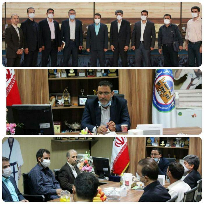 هشتمین جلسه هیأت رئیسه هیأت تکواندو استان زنجان