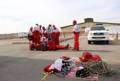 آموزش ۴۵۶ نجاتگر هلال احمر کشور در کرمان