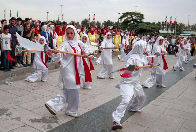 همایش بزرگ روز جهانی ووشو برگزار شد