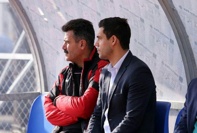 حضور سرپرست دبیرکلی فدراسیون فوتبال در تمرین تیم ملی جوانان