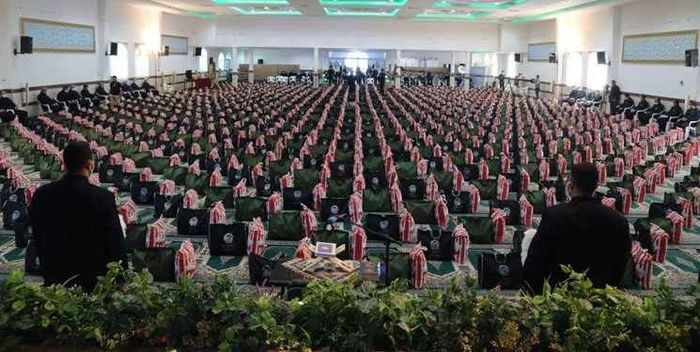 توزیع ۶۰۰ بسته معیشتی بین نیازمندان در آستانه عید سعید فطر