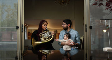 اجرای متفاوت ارکستر سمفونیک در تهران