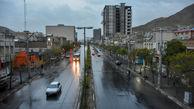 هشدار هواشناسی نسبت به رگبار و رعد و برق در برخی استانهای کشور