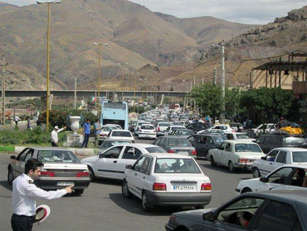 ترافیک نیمه سنگین و پرحجم در 2 جاده گیلان