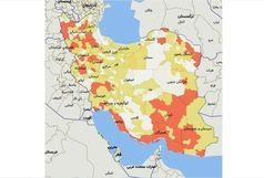 کدام شهرستانهای استان آذربایجان غربی تا 14 مرداد 99 در وضعیت قرمز و سفید کرونایی هستند؟
