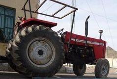 تردد تراکتورهای کشاورزی فقط با نصب پلاک!