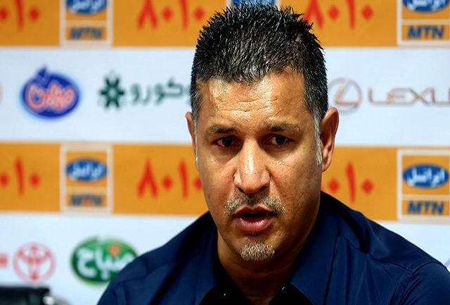 علی دایی: باید به بازیکنانم گوشزد کنم از خواب بلند شوند