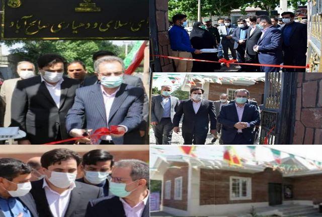 افتتاح و بهره برداری از پروژه های عمرانی شهرستان ملارد