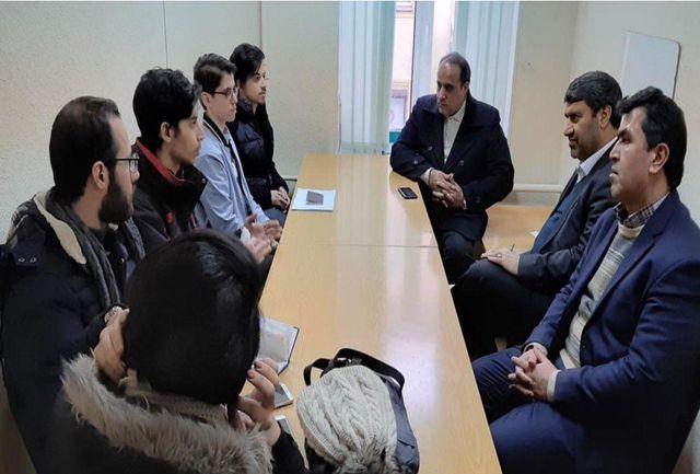 دیدار نمایندگان با دانشجویان ایرانی شاغل به تحصیل در سنت پترزبورگ