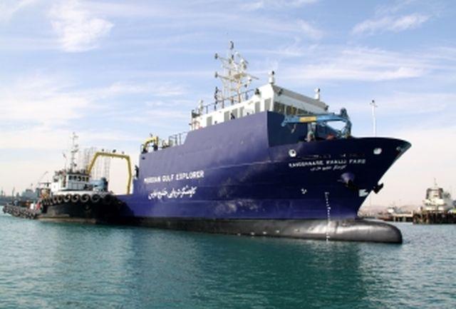 اولین کشتی شناور تحقیقاتی اقیانوس شناسی ایران در دهه فجر به بهره برداری می رسد
