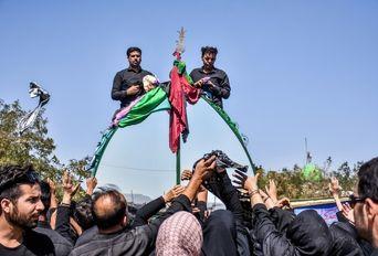 عزاداری تاسوعای حسینی روستای (شهسواران)