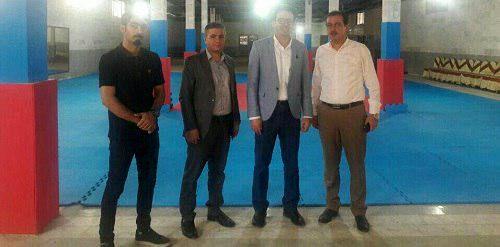 بازدید معاون مدیر کل و رئیس اداره ورزش و جوانان شهرستان ری از خانه کاراته فشافویه