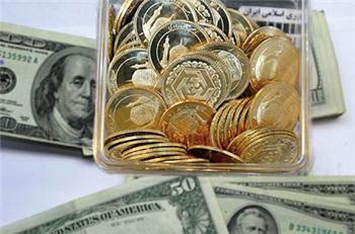 قیمت سکه و دلار در بازار امروز 6 تیر / شیب صعودی قیمتها
