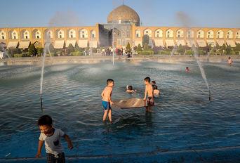 شهر تاریخی «اصفهان» در تابستان