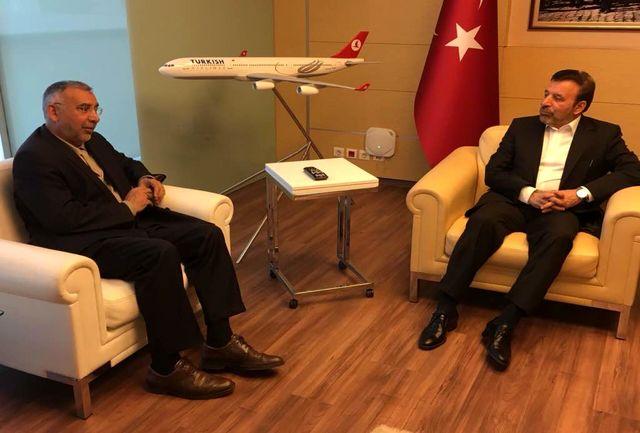 واعظی وارد ترکیه شد/ تبادل نظر با رئیس جمهور و رئیس کمیسیون مشترک ایران و ترکیه