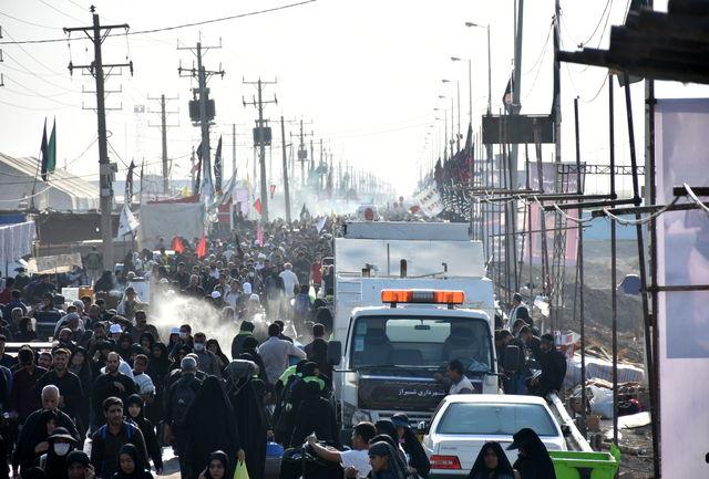 تردد زائران از مرز شلمچه از ۶۰۰ هزار نفر گذشت