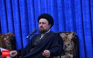 تماس تلفنی سید حسن خمینی با علی لاریجانی