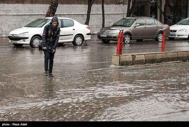 کاهش میزان آب گرفتگی سطح شهر گنبدکاووس نسبت به دو ماه گذشته