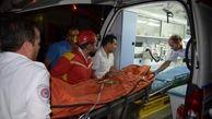 تصادف وحشتناک وانت حامل کارگران/ یازده کارگر به بیمارستان منتقل شدند
