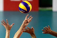 تیم والیبال شهرداری قزوین در مقابل«لبنیات هراز آمل» صف آرایی می کند