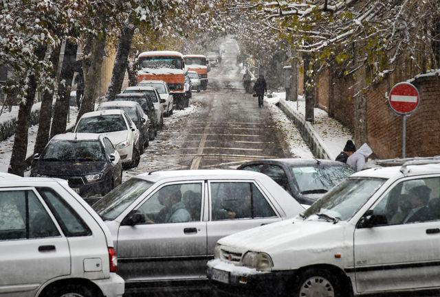 بزرگراه های تهران قفل شد