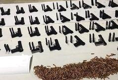 کشف محموله سلاح جنگی از تروریست ها در جنوب شرق کشور