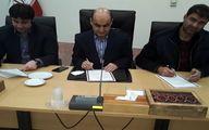 تفاهم نامه همکاری بین استانداری گلستان ,اداره کل ورزش و جوانان و فدراسیون قایقرانی امضا شد
